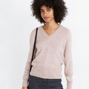 Madewell Donegal Westgate V-Neck Sweater NWOT - M